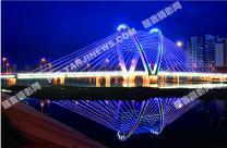 天池桥夜景