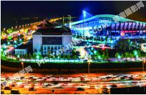 延吉体育场夜景