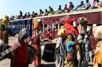 尼泊尔的火车
